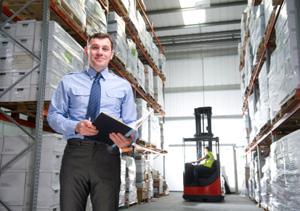 Guy In Warehouse