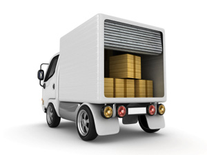 Commercial Moving Truck Graphic